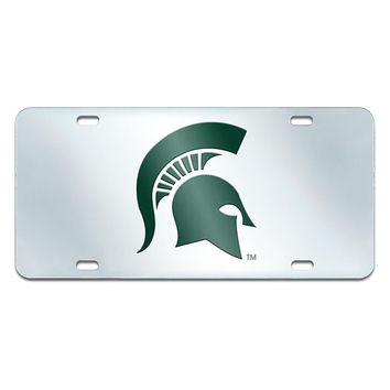 Michigan State Spartans NCAA License Plate-Inlaid