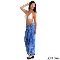 Dragonfly Sarong Beach Cover Up