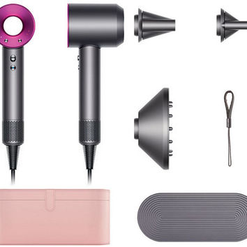 Dyson Supersonic Hair Dryer with 3 Attachments & Case — QVC.com
