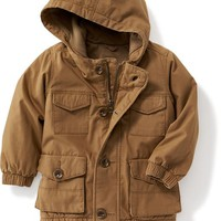 Canvas Utility Jacket for Toddler | Old Navy