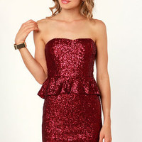 Ruby Tuesday Red Sequin Dress
