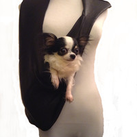Supple Leather Dog Carrier