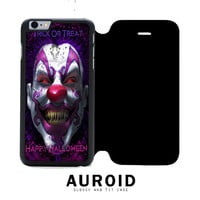 Trick or Treat Happy Halloween Joker iPhone 6S Flip Case Auroid