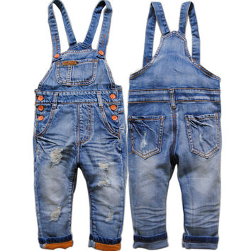 Baby Denim Swag Overall