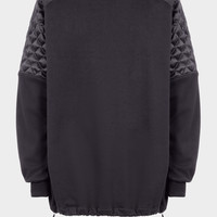 Versace Quilted Sleeve Sweatshirt for Men | US Online Store