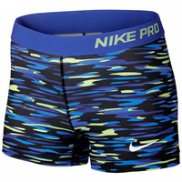 Nike Women's Fall Pro Haze Print Short