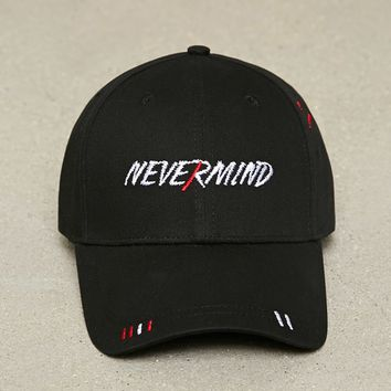 Men Nevermind Baseball Cap