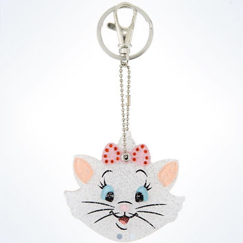 disney parks the aristocats marie keychain keyring mirror new with tags