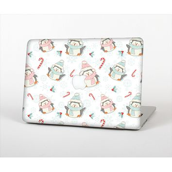 "The Christmas Suited Fat Penguins Skin Set for the Apple MacBook Pro 15"" with Retina Display"