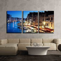 DIY Diamond Painting Grand Canal In Venice Italy At Sunset Full Round Diamond Painting Embroidery Cross Stitch Wall Decoration