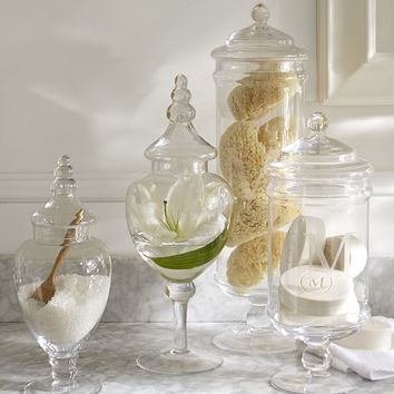 PB CLASSIC GLASS APOTHECARY JARS