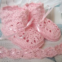 PARIS Luxury Crochet Heirloom Baby .. on Luulla