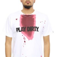Undftd, Play Dirty Blood T-Shirt - White - Undftd - MOOSE Limited