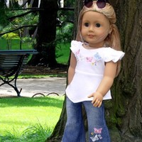Jeans Set fits 18 Inch Doll Clothes