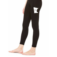 Minnesota Home WHITE - LEGGING
