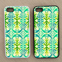 Cute Abstract Geometric Pattern Summer iPhone Case, iPhone 5 Case, iPhone 4S Case, iPhone 4 Case - SKU: 163