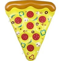"U.S. Pool Supply Giant 6 x 5 Foot Inflatable Pizza Slice Pool Float - Fun Kids Swim Party Toy - Huge 72"" Summer Pool Lounge Raft"