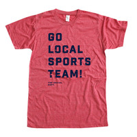 GO LOCAL SPORTS TEAMS! (Red Options)