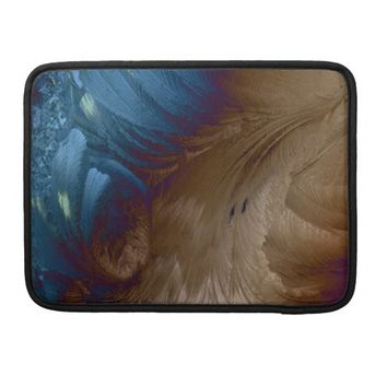 Golden Feathers MacBook Pro Sleeves