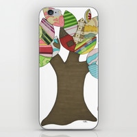 Button Tree iPhone & iPod Skin by Erin Brie Art