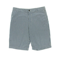 Dockers Mens Gingham Flat Front Casual Shorts