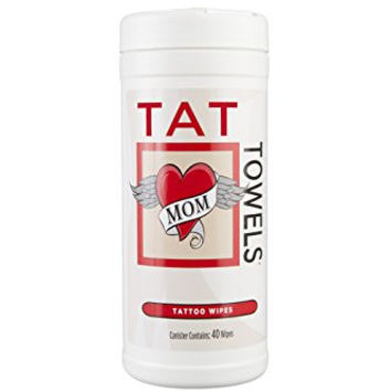 Tat Towels (On Sale!) A Better Way to Moisturize and Enhance Your Tattoos 40ct **NEW!**