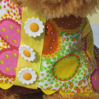 Dog Summer Dress Toy Breed  Cotton by BloomingtailsDogDuds on Etsy