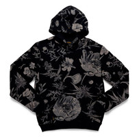 10 Deep: Night Vision Bacchannal Hoody - Black