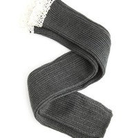 Crochet Ribbed Knit Leg Warmer: Charlotte Russe