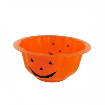 Pumpkin Halloween Candy Bowl