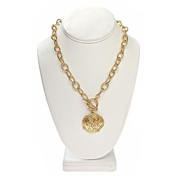 CHAIN COIN NECKLACE