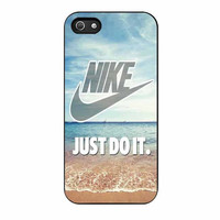 nike just do it blueean beach cases for iphone se 5 5s 5c 4 4s 6 6s plus