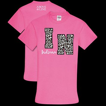 Couture Above The Line Soft Collection Leopard Indiana T-Shirt