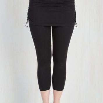 Urban Cropped The Leisure Is Mine Athletic Leggings in Cropped