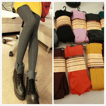 Korean Stylish Slim Socks Leggings [47783149575]