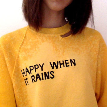 Happy Rain Crewneck - 30 Day Pre Order