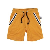Towelling Shorts - Retro Gold
