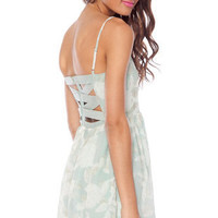 Spring into Summer Dress in Mint :: tobi