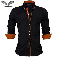 Men's British Style Button Down Shirts