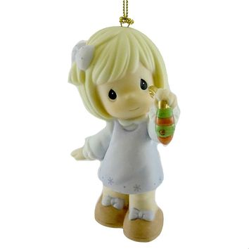 Precious Moments THE SPIRIT OF CHRISTMAS SHINES THIS SEASON Ornament 810032