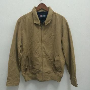 Vintage Chaps Ralph Lauren Harrington Bomber Jacket Polo Tommy Casual Size M