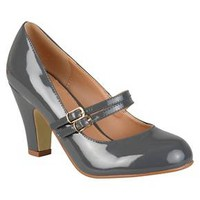 Women's Journee Collection Wendy Mary Jane Patent Leather Pumps