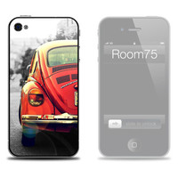 Red Volkswagen VW Iphone Skin, Galaxy S3 Skin and Wallpaper from Room75