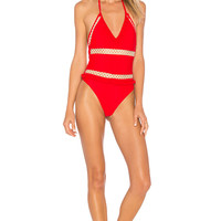 Tularosa x REVOLVE Ember One Piece in Cherry Bomb