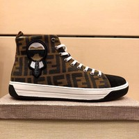 Fendi Newest Fashion Men Sport Casual Running Shoes