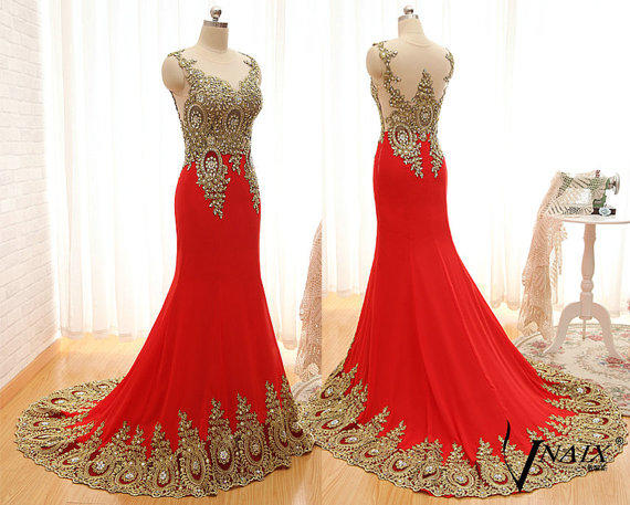 New Arrival Evening Dresses Unique Design from VnaixBridal on