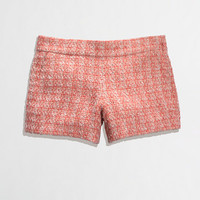 Factory coral tweed short - Shorts - FactoryWomen's New Arrivals - J.Crew Factory
