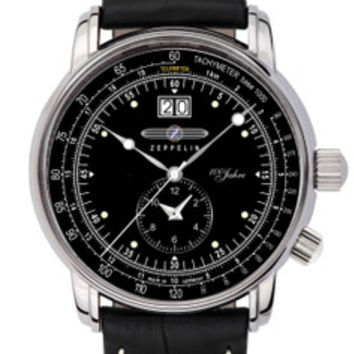 Graf Zeppelin 100 Years Dual Time Zone Watch 7640-2