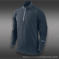Nike Mens Tennis Shirt, Nike Element Half-Zip 504606-459