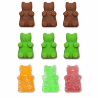 2017 Fashion 50 Cavity Silicone Gummy Bear Chocolate Mold Candy Maker Ice Tray Jelly Moulds